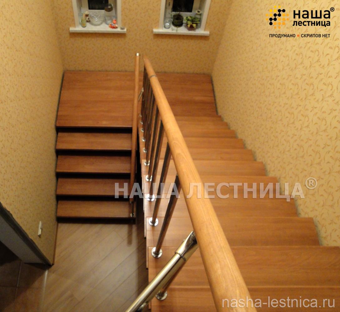 Лестница из п-образного своими руками 9