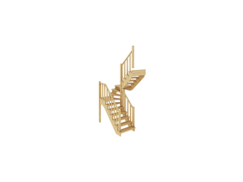 Лестница К-034м