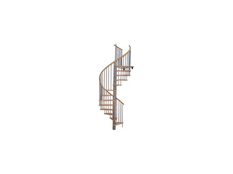 лестница Spiral decor d140 (silver)