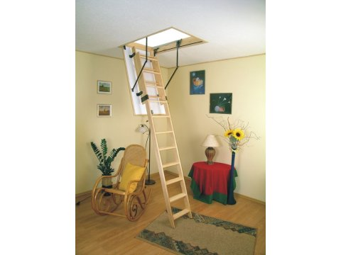 Раздвижная чердачная лестница Sliding