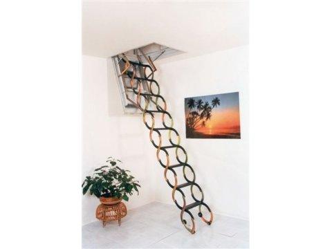 Раздвижная чердачная лестница Ножничная LUX