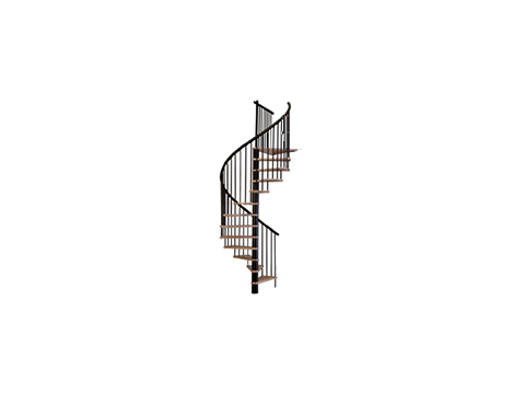 лестница Spiral decor d120 (black)