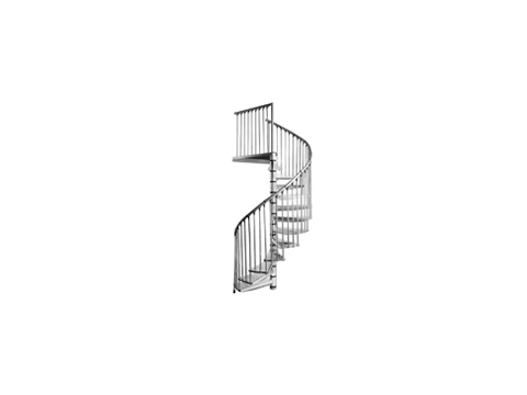 лестница Rondo Zink Plus D120