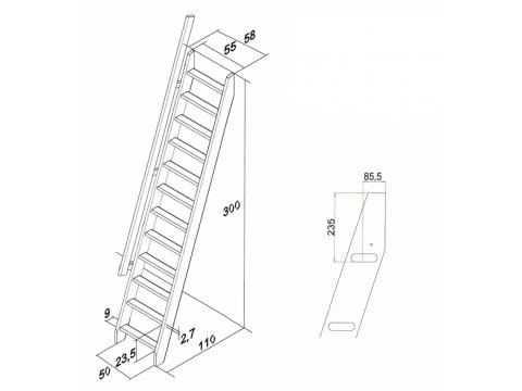 Лестница М-013у