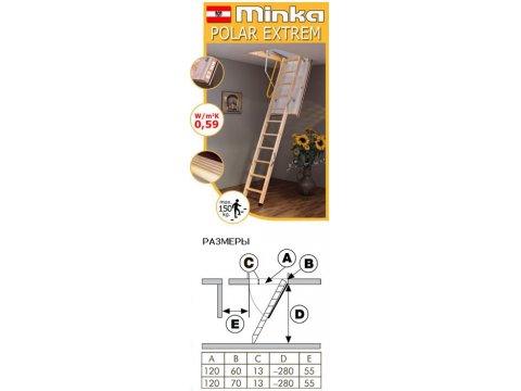 Minka POLAR EXTREM 130/140(Австрия)
