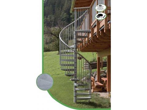 лестница Rondo Zink Plus D140