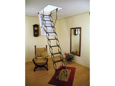 Раздвижная чердачная лестница Ножничная Termo